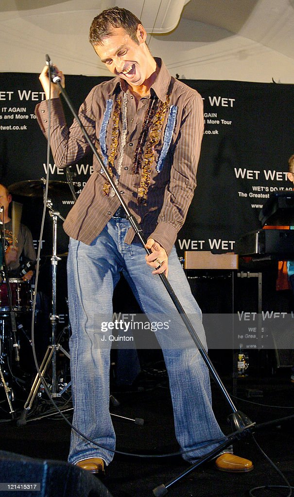 Wet Wet Wet Greatest Hits Tour - Press Launch