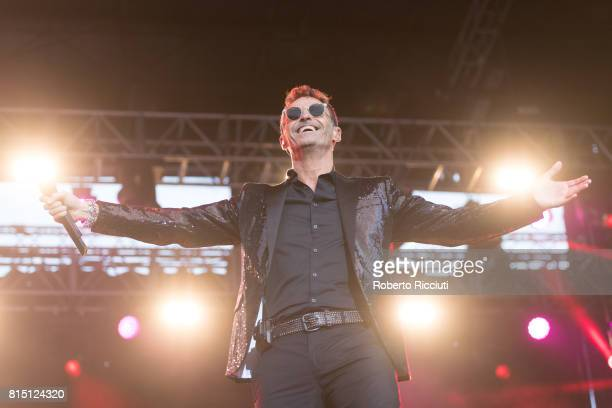 Marti Pellow of Wet Wet Wet performs on stage at Edinburgh Castle on July 15 2017 in Edinburgh Scotland