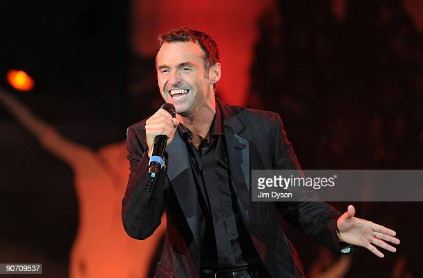 Marti Pellow performs during 'Thank You For The Music A Celebration Of The Music Of Abba' at Hyde Park on September 13 2009 in London England
