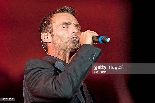 Marti Pellow performs on stage as part of Thank You For The Music A Celebration Of The Music Of Abba at Hyde Park on September 13 2009 in London...