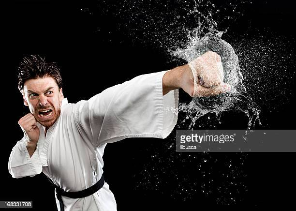art Martial eau splash punch