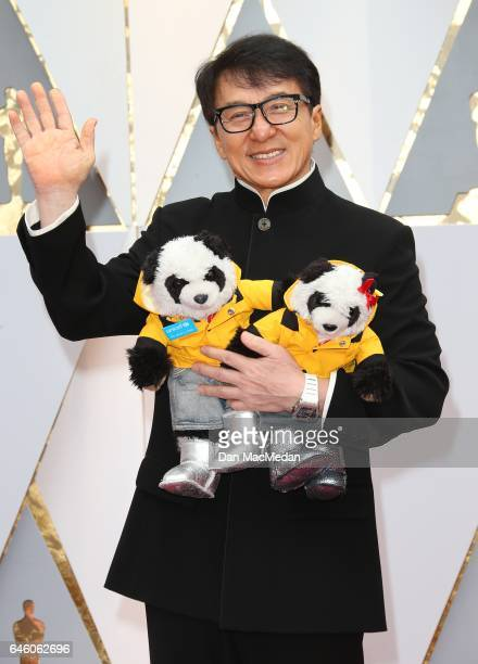 Martial artist/Actor Jackie Chan arrives at the 89th Annual Academy Awards at Hollywood Highland Center on February 26 2017 in Hollywood California