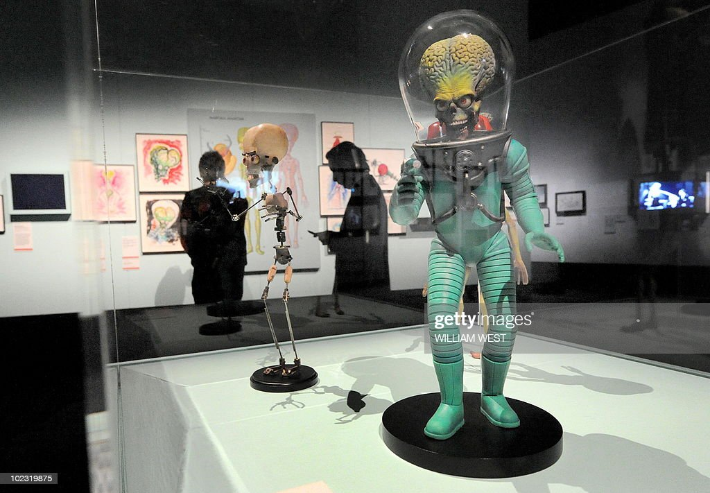 A martian looks out over an major exhibition presented as part of Melbourne Winter Masterpieces 2010 which explores the full career of artist and...