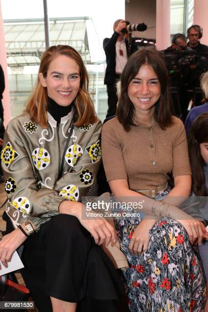 Martin and Natasha Goldenberg while attending the Prada Resort 2018 Womenswear Show in Osservatorio on May 7 2017 in Milan Italy
