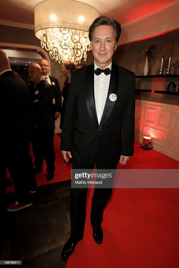 Martin Armknecht attends the Silver Fox Charity Gala at Hotel van der Falk on December 22, 2012 in Moers, Germany.