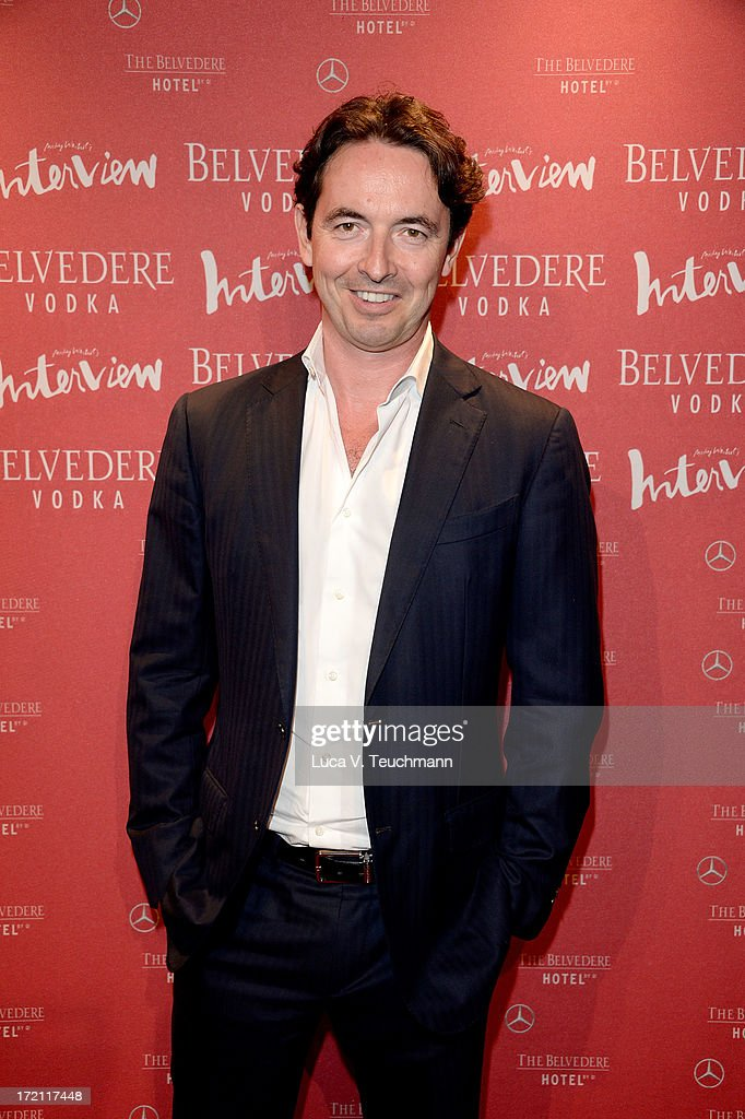 Martin Bachmann attends the Belvedere Vodka and Interview Magazin Party at THE BELVEDERE HOTEL by Q! on July 1, 2013 in Berlin, Germany.