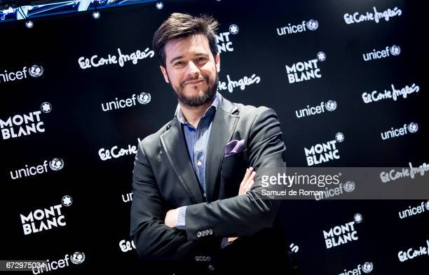 Martin Barreiro attends the Montblanc Presents Charity Collection For UNICEF on April 25 2017 in Madrid Spain
