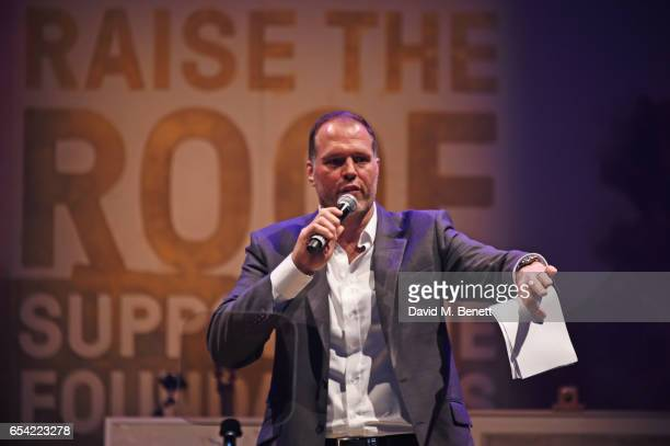 Martin Bayfield speaks at the Roundhouse Gala at The Roundhouse on March 16 2017 in London England