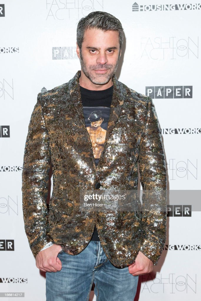 Martin Berusch attends Fashion for Action 2012 at the Altman Building on November 7, 2012 in New York City.