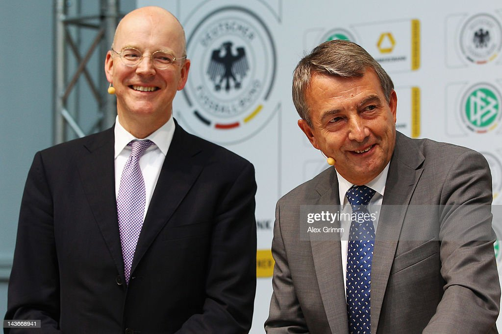DFB And Commerzbank Press Conference