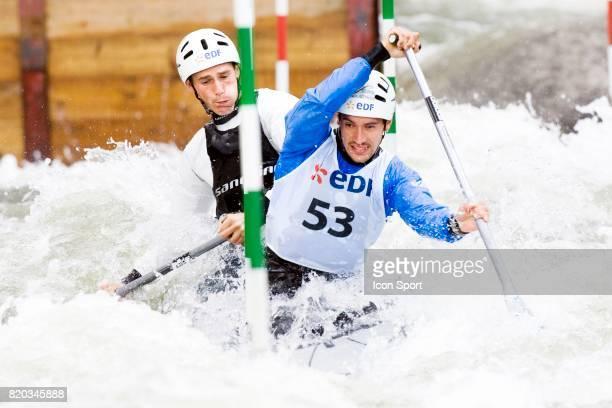Martin BRAUD / Cedric FORGIT Selection Olympique Francaise Canoe Kayak Slalom La Seu D Urgell