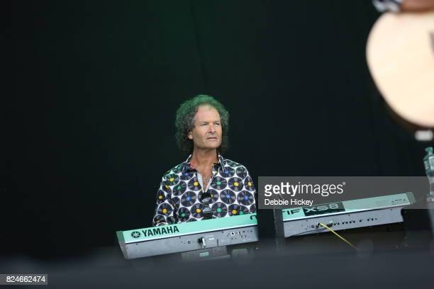 Martin Bullard of Smokie performs during Punchestown Music Festival at Punchestown Racecourse on July 30 2017 in Naas Ireland