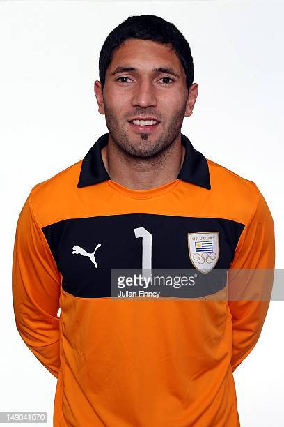 Martin Campana of Uruguay poses during a portrait session on July 22 2012 in Manchester England