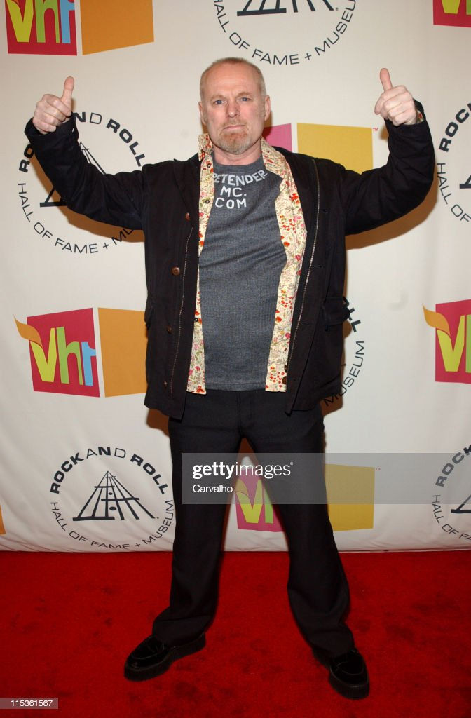 Martin Chambers of The Pretenders, inductee during 20th Annual Rock and Roll Hall of Fame Induction Ceremony - Arrivals at Waldorf Astoria Hotel in New York City, New York, United States.