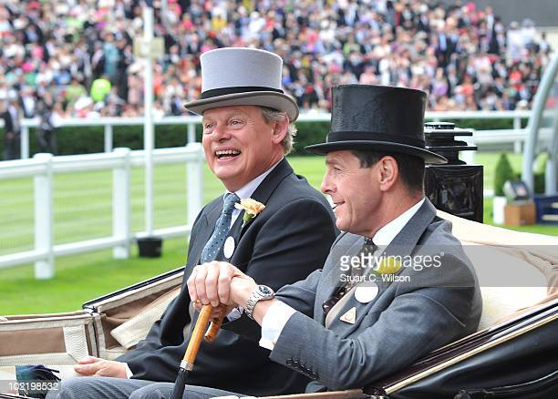 Martin Clunes and Charles Richards attend Royal Ascot Day Four on June 18 2010 in Ascot England