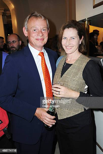 Martin Clunes and Philippa Braithwaite attend the Gala Charity of Richard O'Brien's Rocky Horror Show in Aide of Amnesty International which was...