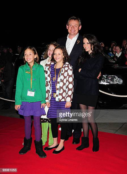 Martin Clunes attend the Born Free Will and Live Concert held at The Royal Albert Hall on November 14 2009 in London England