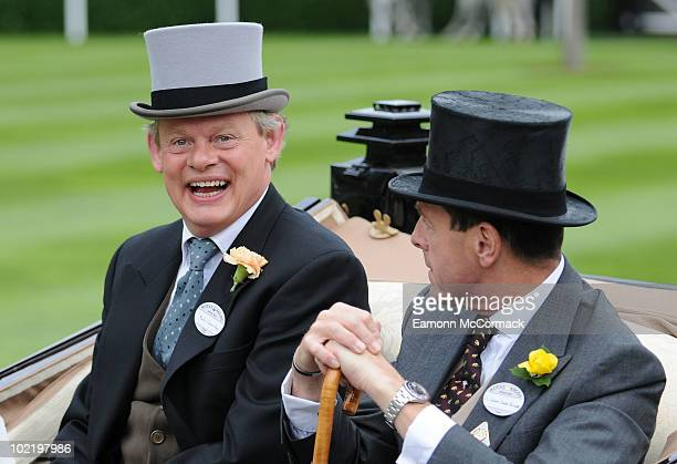 Martin Clunes attends day four of Royal Ascot at Ascot Racecourse on June 18 2010 in Ascot England