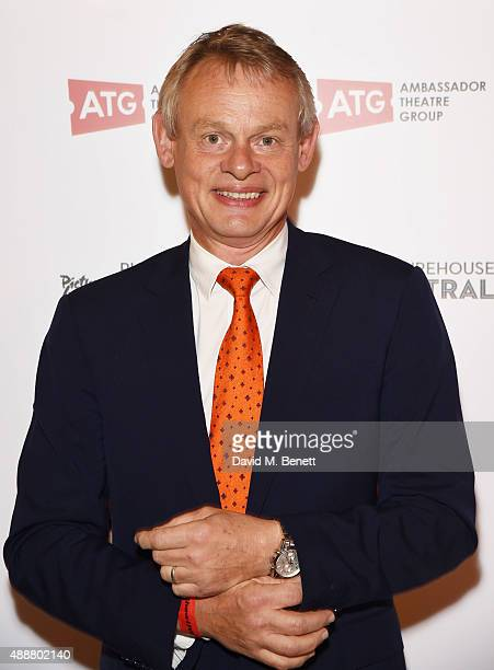 Martin Clunes attends the after party following the gala charity performance of 'Rocky Horror Show' at Picturehouse Central on September 17 2015 in...