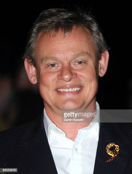 Martin Clunes attends the ''Born Free Wild And Live'' concert in aid of the Born Free Foundation at the Royal Albert Hall on November 14 2009 in...