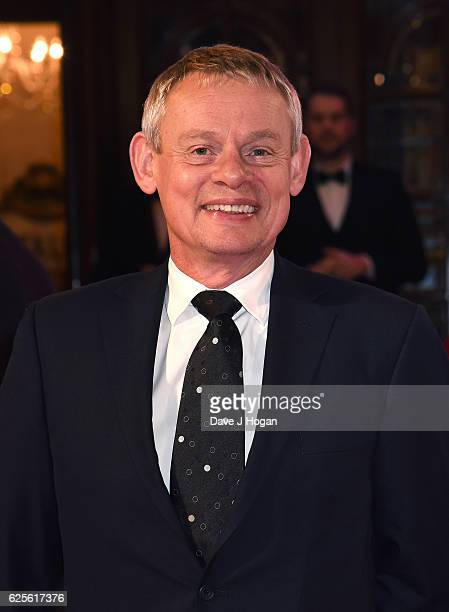 Martin Clunes attends the ITV Gala hosted by Jason Manford at London Palladium on November 24 2016 in London England