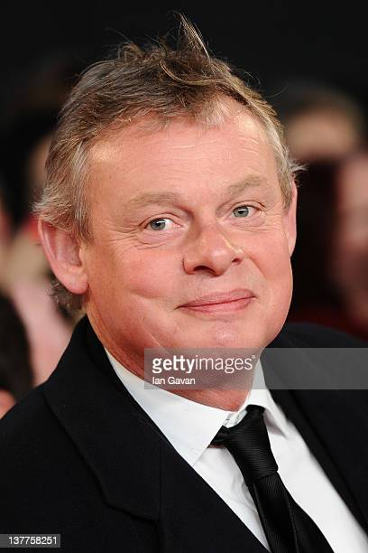 Martin Clunes attends the National Television Awards 2012 at the 02 Arena on January 25 2012 in London England
