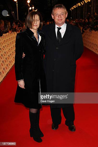 Martin Clunes attends the National Television Awards 2012 at The O2 Arena on January 25th 2012 in London United Kingdom