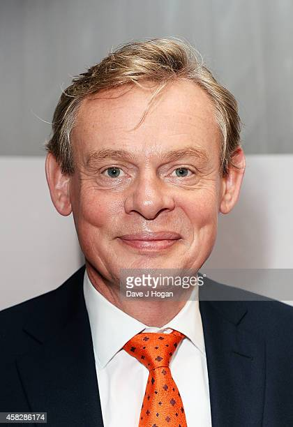 Martin Clunes attends the UK Premiere of 'Nativity 3 Dude Where's My Donkey' at Vue West End on November 2 2014 in London England