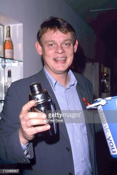 Martin Clunes during Terence Higgins Trust Shopping Fundraiser February 1 1999 at Selfridges in London Great Britain