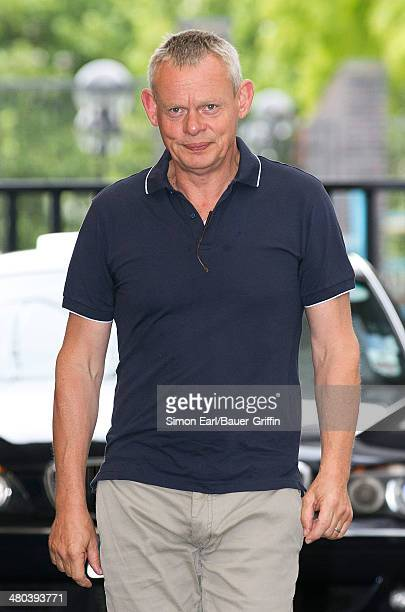 Martin Clunes is seen on August 15 2013 in London United Kingdom