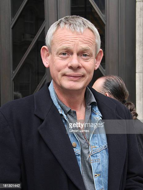 Martin Clunes sighting at the BBC on September 20 2013 in London England