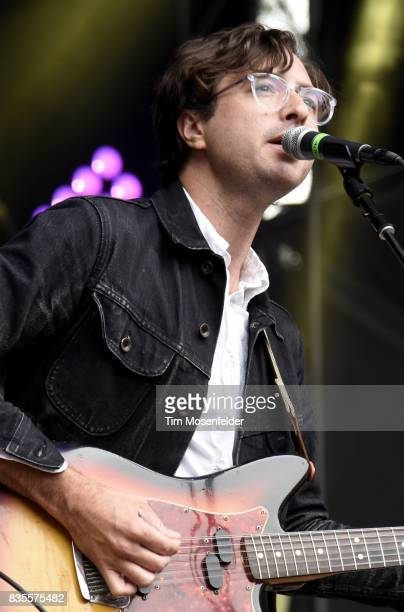 Martin Courtney of Real Estate performs during the 2017 Outside Lands Music and Arts Festival at Golden Gate Park on August 12 2017 in San Francisco...