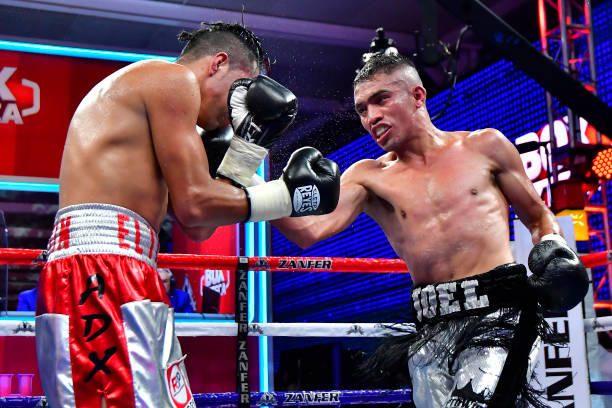 MEX: Pro Boxing Night During Coronavirus Pandemic in Mexico City