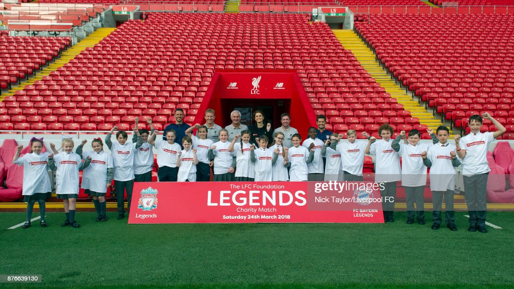 Liverpool Legends v Bayern Munich Legends: Press Conference