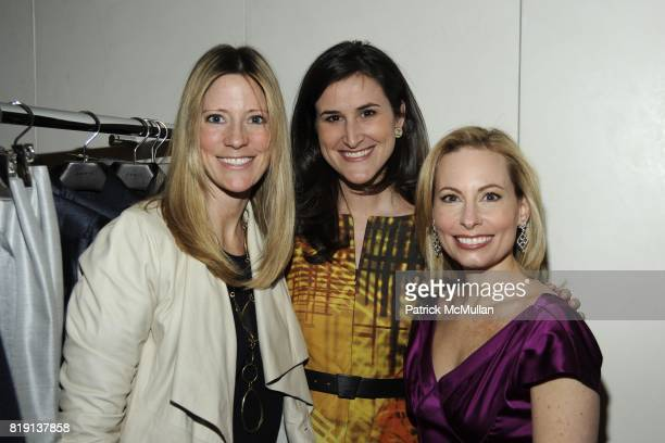 Martin Dessoffy Lydia Fenet and Gillian Miniter attend Akris Hosts New Yorkers For Children Spring Dinner Dance KickOff at Akris Boutique on March 16...
