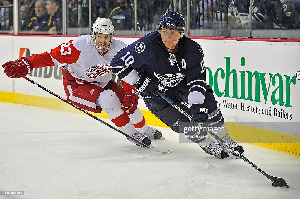 Detroit Red Wings v Nashville Predators