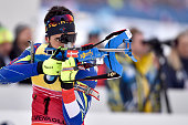 Martin Fourcade of france wins the silver medal during the IBU Biathlon World Championships Men's and Women's Mass Start on March 13 2016 in Oslo...