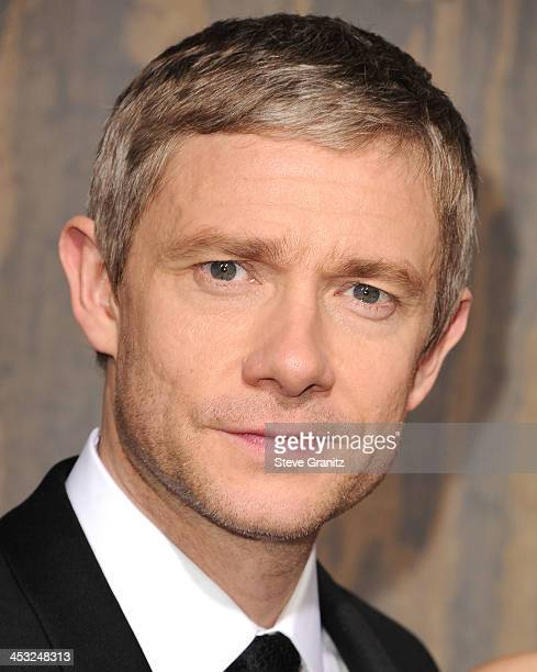 Martin Freeman arrives at the 'The Hobbit The Desolation Of Smaug' at TCL Chinese Theatre on December 2 2013 in Hollywood California