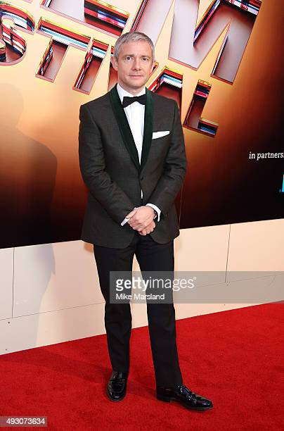 Martin Freeman attends the BFI London Film Festival Awards at Banqueting House on October 17 2015 in London England