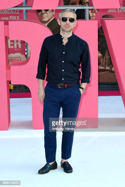 Martin Freeman attends the European premiere of 'Baby Driver' on June 21 2017 in London United Kingdom