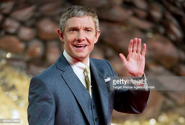 Martin Freeman attends the German premiere of the film 'The Hobbit The Desolation Of Smaug' at Sony Centre on December 9 2013 in Berlin Germany