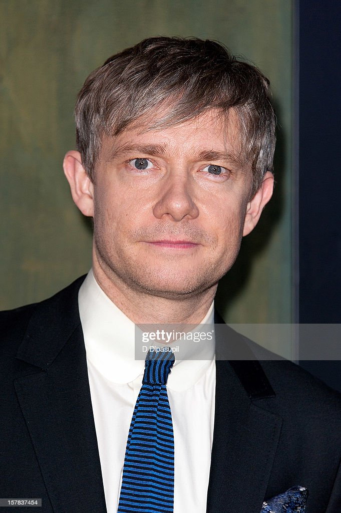 Martin Freeman attends 'The Hobbit: Unexpected Journey' premiere at the Ziegfeld Theater on December 6, 2012 in New York City.