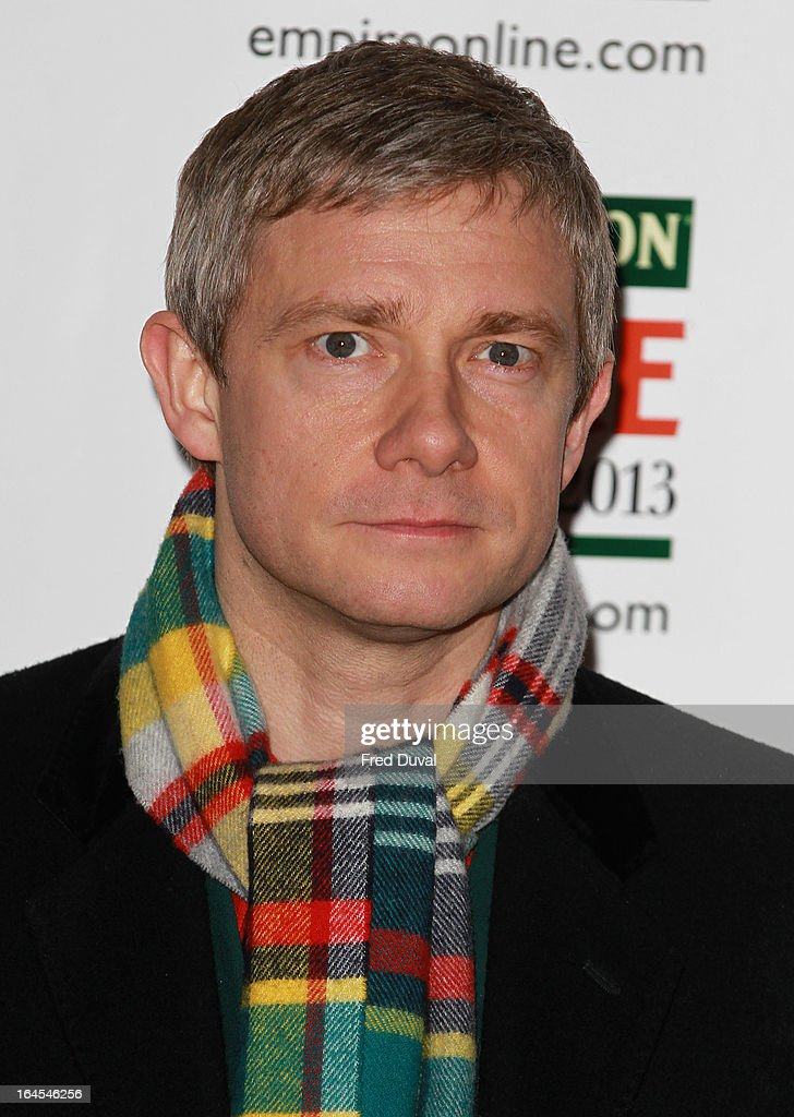 Martin Freeman attends the Jameson Empire Film Awards at The Grosvenor House Hotel on March 24, 2013 in London, England.