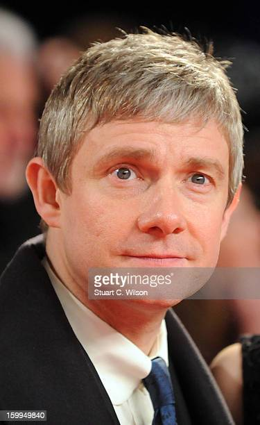 Martin Freeman attends the National Television Awards at 02 Arena on January 23 2013 in London England