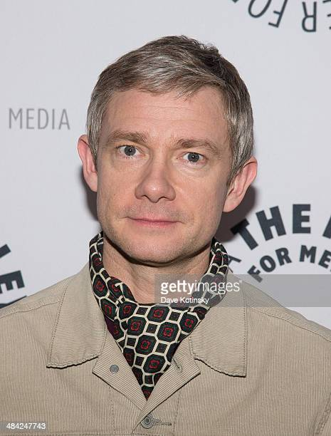 Martin Freeman attends the Paley Center For Media Presents 'Fargo' at Paley Center For Media on April 11 2014 in New York City