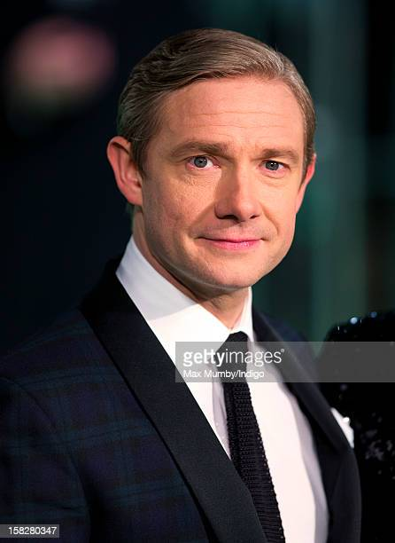 Martin Freeman attends the Royal Film Performance of 'The Hobbit An Unexpected Journey' at Odeon Leicester Square on December 12 2012 in London...