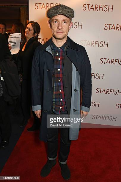 Martin Freeman attends the UK Premiere of 'Starfish' at The Curzon Mayfair on October 27 2016 in London England