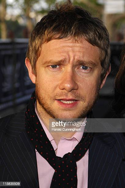 Martin Freeman during Cobravision Awards 2007 Arrivals at BFI in London Great Britain