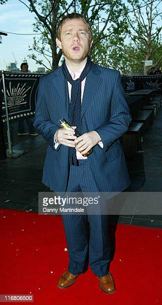 Martin Freeman during Cobravision Awards Outside Arrivals at BFI Southbank in London Great Britain