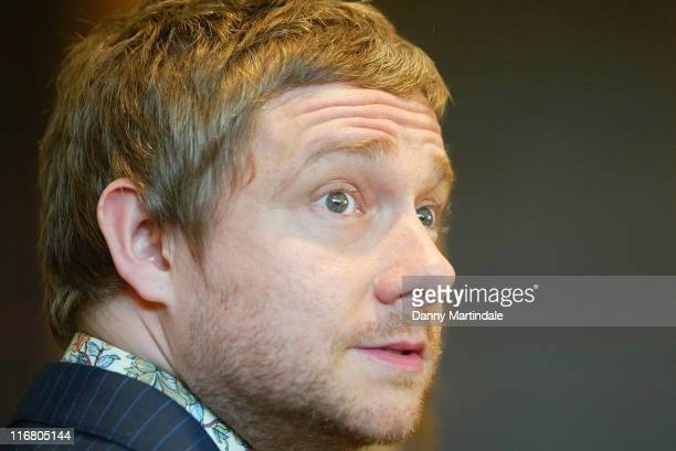 Martin Freeman during InterContinental London Park Lane Relaunch Party Red Carpet Arrivals at InterContinental Hotel in London United Kingdom
